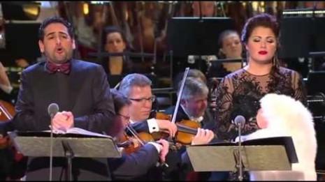 Princesse Czardas de Kálmán - Netrebko, Flórez, Dresde, 2014 (intégrale)