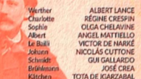 Werther avec Albert Lance, Regine Crespin et Jean Fournet