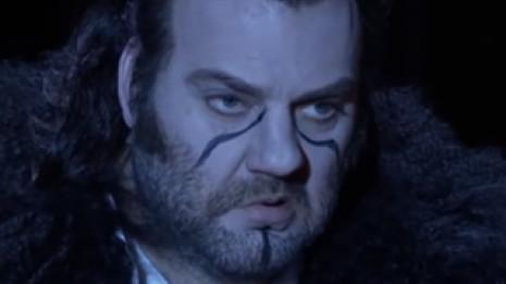 Bryn Terfel chante un extrait du Vaisseau Fantôme