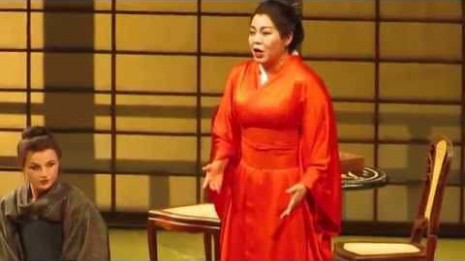 Hui He dans Madame Butterfly à Opéra Allemand de Berlin