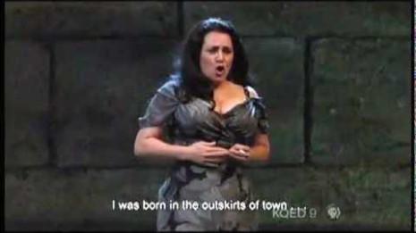 Patricia Racette dans Il Tabarro à l'Opéra de San Francisco