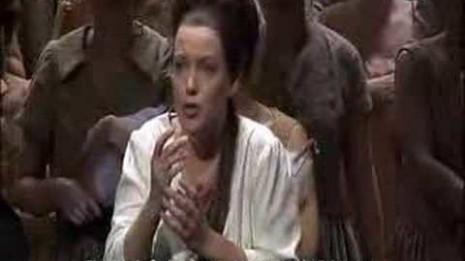 Nina Stemme dans Le Vaisseau fantôme à l'Opéra d'Etat de Vienne
