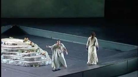 Yves Saelens dans Alceste à l'Opéra de Leipzig