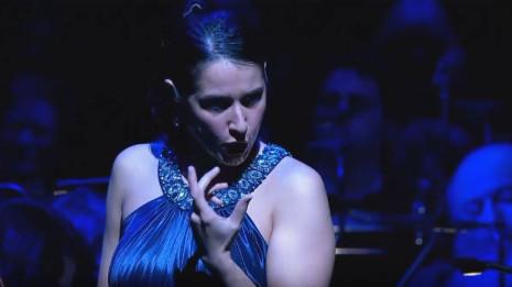 Sara Blanch : Reine de la nuit (La Flûte enchantée - Mozart)
