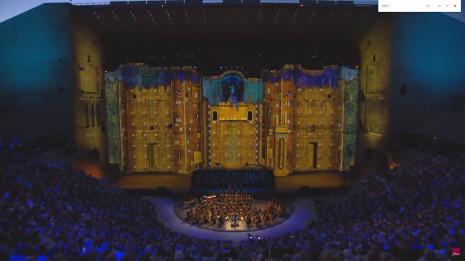 Symphonie n°9 de Beethoven aux Chorégies Orange 2017 (vidéo intégrale)