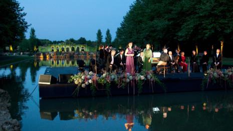 Odyssée baroque, Dans les jardins de William Christie