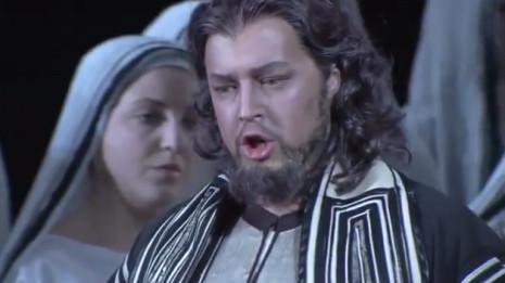 Dmitry Beloselsky chante Zaccaria (Nabucco)