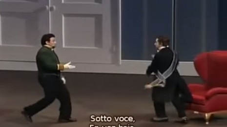 Vargas et Corbelli dans la Cenerentola