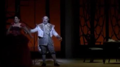 Marco Filippo Romano chante Bartolo (Barbier de Séville)