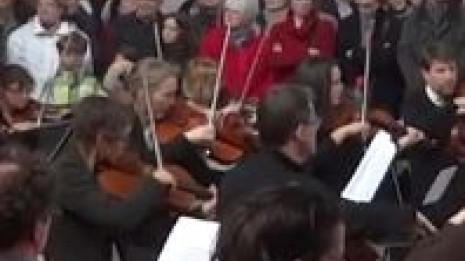 L'Orchestre de Dijon Bourgogne joue en gare de Dijon