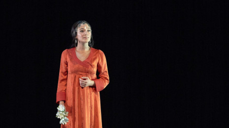 Sabine Devieilhe enregistre l'Air des clochettes (Lakmé par Delibes)