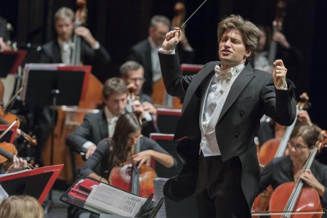 Daniele Rustioni dans Attila à Lyon le 12/11/2017