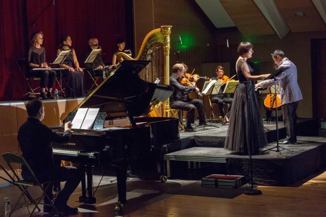 Marie Lenormand, Takénori Nemoto et l'Ensemble Musica Nigella