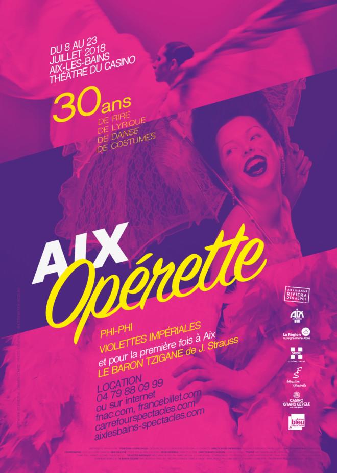 Festival d'opérette Aix-les-Bains 2018