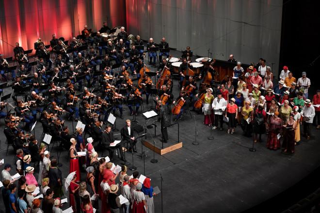 Le Concert Spirituel, Arnaud Richard, Enguerrand de Hys, Hervé Niquet, l'Orchestre et l'Harmonie de la Garde républicaine